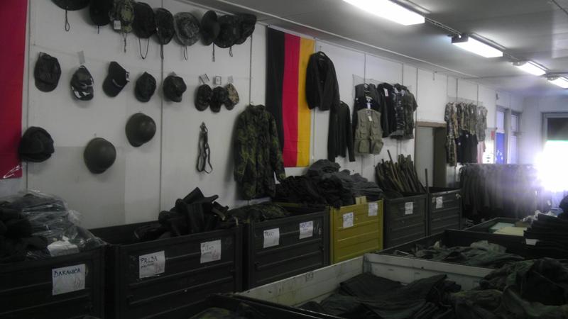 Výpredaj armádneho tovaru- Noviny Zemplína 8b06513b90f